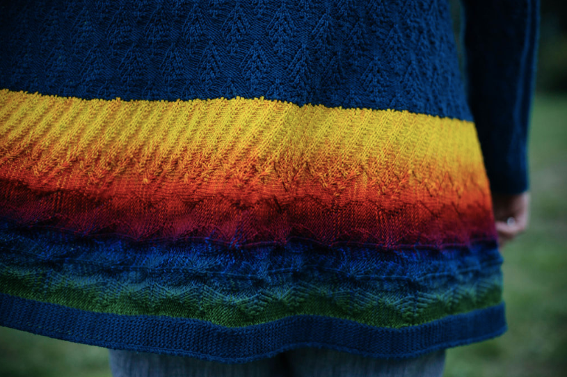 Alpine Sunset Jacket - pattern by Margaret Stove