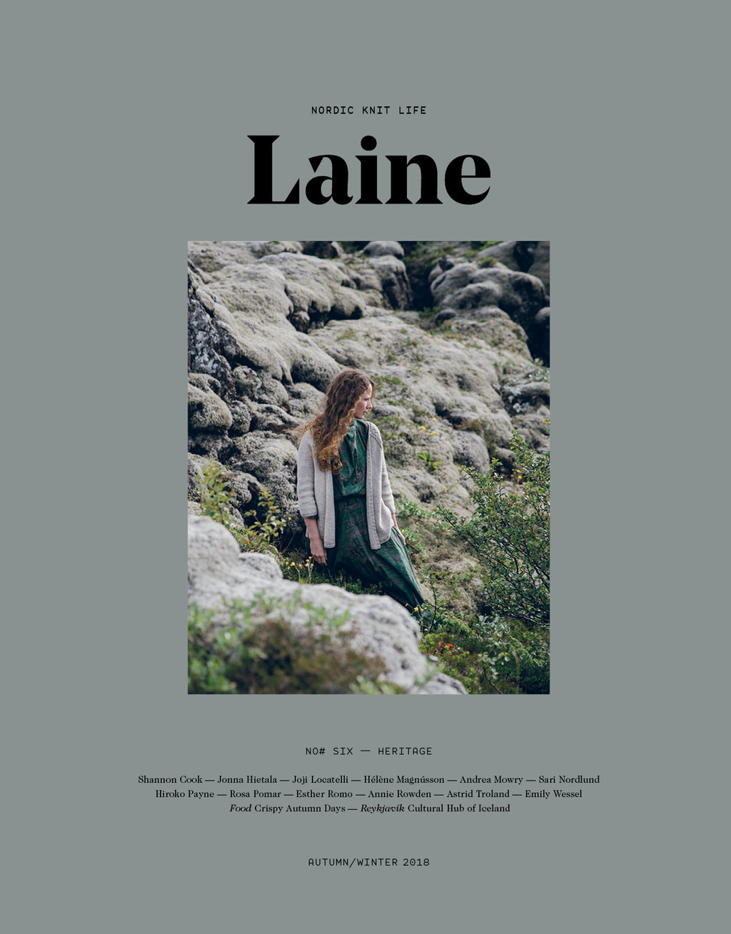 Laine issue six cover