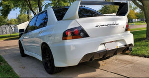 Evo 7/8/9 Lightweight Rear Bumper / Bash Bar