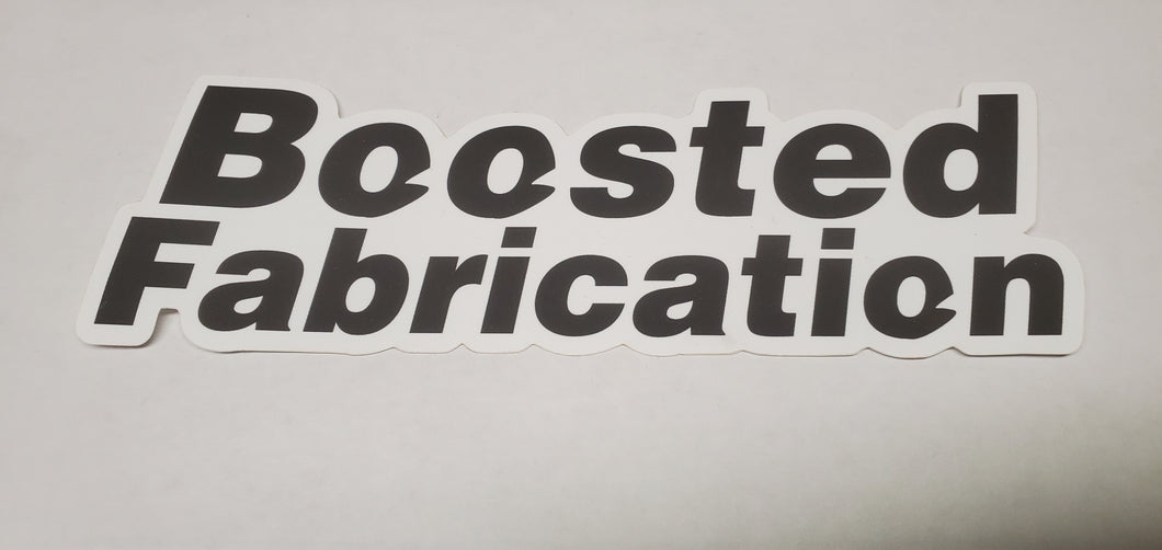 Boosted Fabrication 4.5 inch sticker