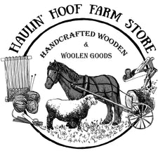 horse-logging for sustainable forestry and raising sheep to produce small-batch organic wool for hand-dyed yarns and textiles.  Creating weaving tool from horse logged wood and other items using all natural materials and sustainable practices.