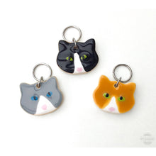 Load image into Gallery viewer, Cats & Dogs Stitch Marker Collection: Cat and Dog Knitting Place Markers