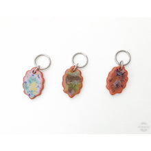 Load image into Gallery viewer, Color & Texture Stitch Marker Collection: Scallops and Circles with Burts of Color