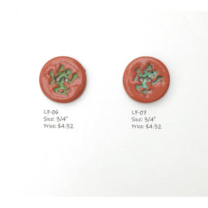Leaping Frogs Button Collection: A Collection of Ceramic Frog Buttons for Everyone!