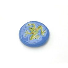 Load image into Gallery viewer, Leaping Frogs Button Collection: A Collection of Ceramic Frog Buttons for Everyone!