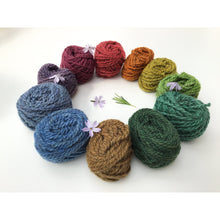 Load image into Gallery viewer, Rainbow & Soil Yarn Colorway - 2ply Hand-dyed Yarn - Worsted Weight