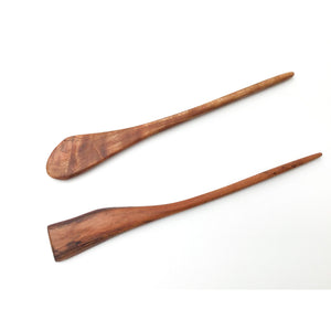 Live Edge Cherry Wood Shawl & Sweater Pins - Wooden Hair Pins
