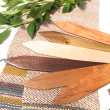 "Load image into Gallery viewer, Craftsman Weaving Shed Sticks - 1.5"" Wide Hardwood Weaving Sticks"