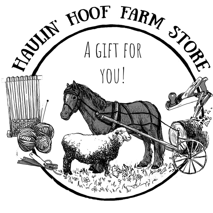 Haulin' Hoof Farm Store Gift Cards