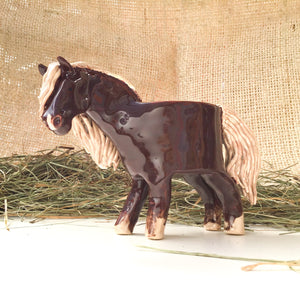Andalusian Horse Planter - Ceramic Horse Plant Pot