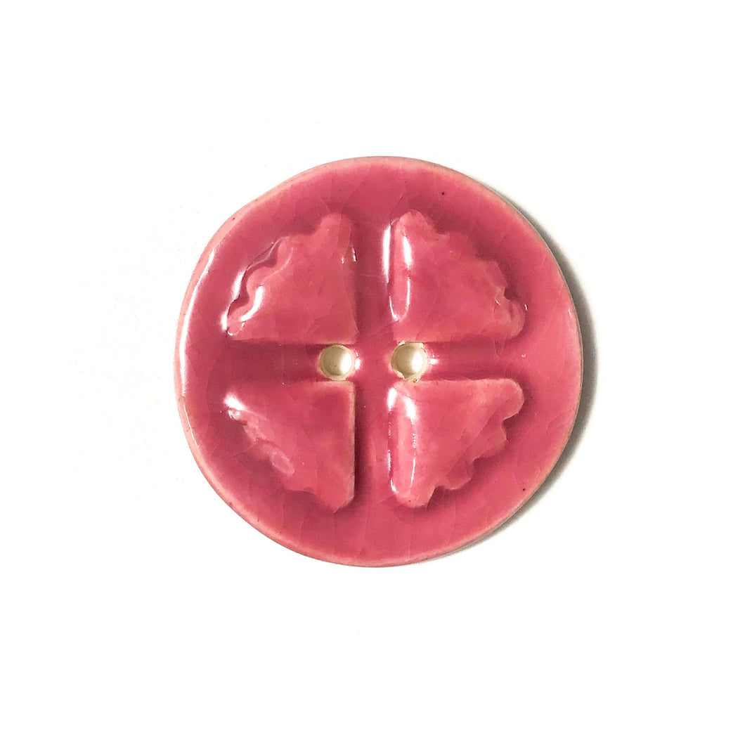 Mirro Stamp Buttons - Cheery Shades Ceramic Buttons - 1 3/8