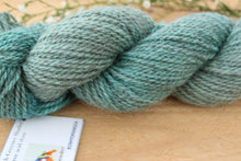 Load image into Gallery viewer, Sport weight Hand-dyed Longwool Blend - 2 ply - HYDRANGEA