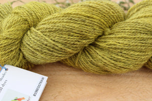 Sport weight Hand-dyed Longwool Blend - 2 ply - BEDSTRAW