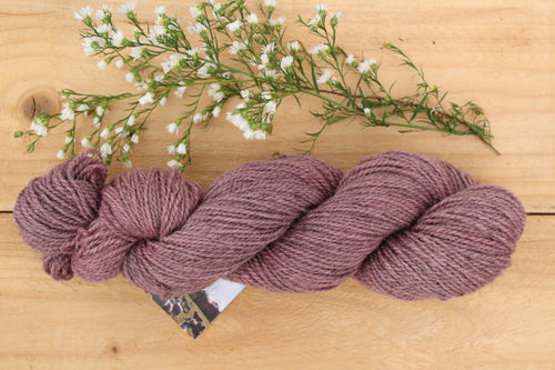 Sport weight Hand-dyed Longwool Blend - 2 ply - HEATHER