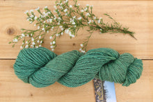 Load image into Gallery viewer, DK weight Hand-dyed Longwool Blend - 2 ply - LAGOON