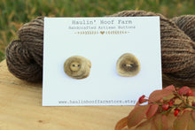 Load image into Gallery viewer, Deer Antler Shed Buttons - Set of 2