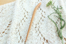 Load image into Gallery viewer, Mineral Stained Cherry Sweater + Shawl Pin