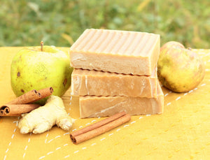 Apple Spice & Ginger Handcrafted Organic Soap