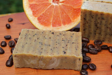Load image into Gallery viewer, Citrus Java Bean Bar - Handcrafted Organic Soap