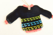 Load image into Gallery viewer, Sweater Ornament - South American Fair Isle Design