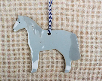 Thoroughbred Horse Ornament (1)