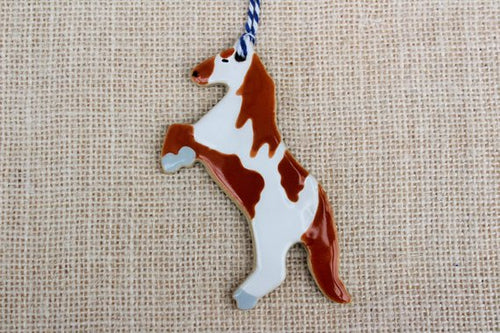 Paint Horse Ornament (1)