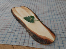 Load image into Gallery viewer, Natural Edge Maple Cutting/Serving board