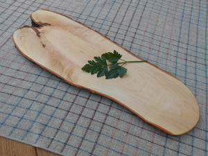 Natural Edge Maple Cutting/Serving board