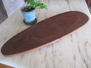 Natural Edge Black Walnut Serving Tray