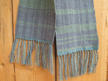 Load image into Gallery viewer, Handwoven Cotton + Linen + Silk Scarf