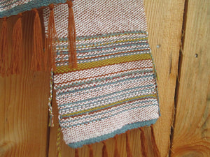 Earth Tones Linen & Cotton Wrap