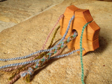 Load image into Gallery viewer, Braid Flower Kit with Hand-dyed Yarn and Keepsake Bag