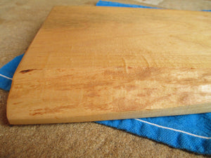 Natural Edge Maple Serving/Cutting Board