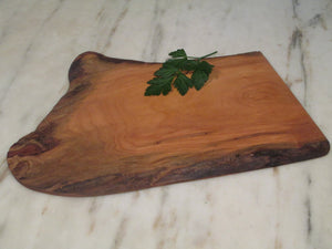 Natural Edge Cherry Serving Board