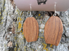 Load image into Gallery viewer, Ash Wood Earrings