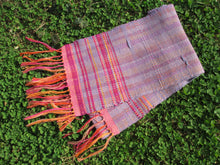 Load image into Gallery viewer, Handwoven scarf - Spring Beauty