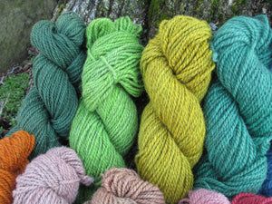 Worsted Weight - 2ply Hand-dyed Yarn