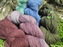 Load image into Gallery viewer, Fingering Weight - 2ply Hand-dyed Yarn