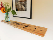 Load image into Gallery viewer, Distressed Sassafras Wood Shelf