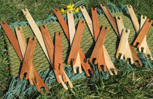 "20""- 34"" Mixed Wood Stick Shuttles"