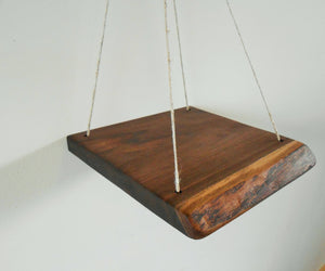 Black Walnut  Swing Shelf