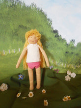 Load image into Gallery viewer, Organic Waldorf Dress-up Doll with Accessories