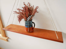 Load image into Gallery viewer, Cherry Swing Shelf with Hemp Cord