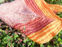 Load image into Gallery viewer, Hand-dyed Mohair Shawl - Hand-spun