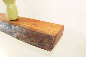 Live Edge Cherry Floating Shelf