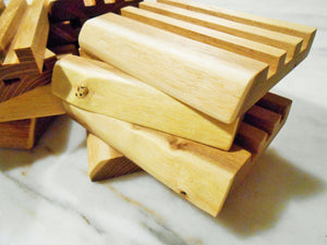 Natural Edge Black Locust Wood Soap Dish