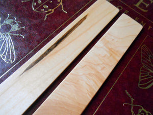 Maple Wood Bookmark