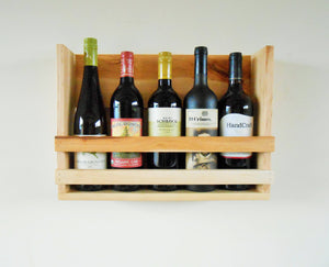 Maple Wood Wine Rack