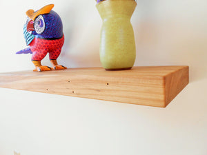 American Elm Floating Shelf