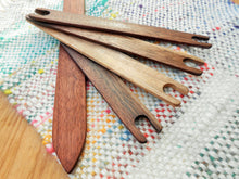 Load image into Gallery viewer, Black Walnut Stick Shuttle & Shed Stick Bundle